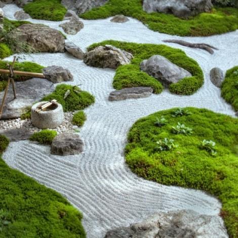 marvellous japanese zen rock garden design | Japanese Magical Zen Gardens Ideas | Home Design Picture