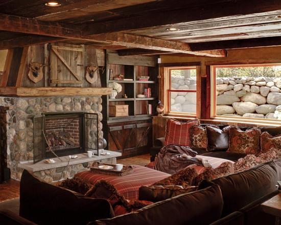 Unique Living Room Rustic Design